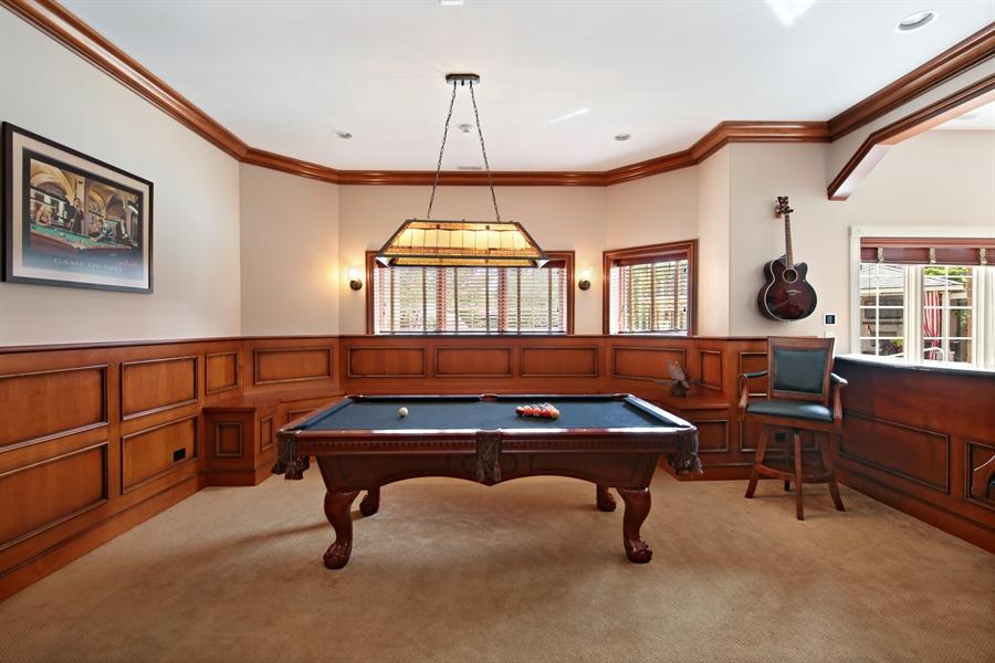 Real Estate Photography - 20021 Alison Trl, Mokena, IL, 60448 - Pool Room