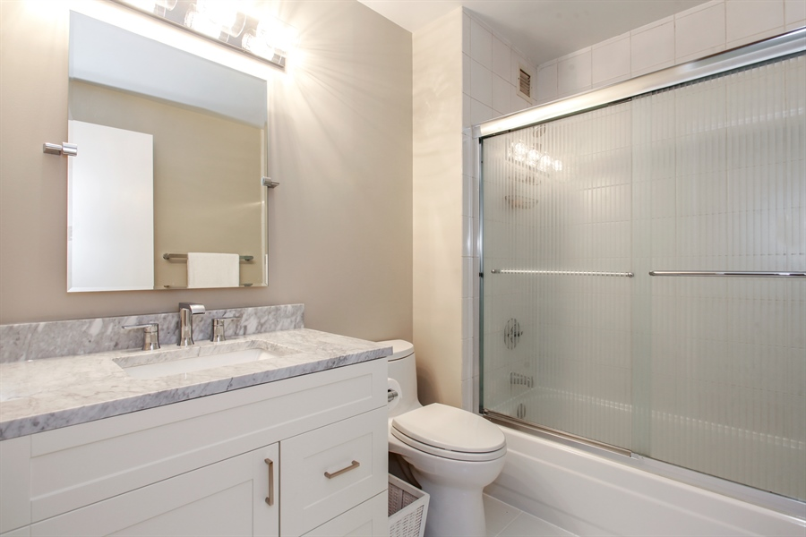 Real Estate Photography - 1250 Dearborn, 7A, Chicago, IL, 60610 - Master Bathroom