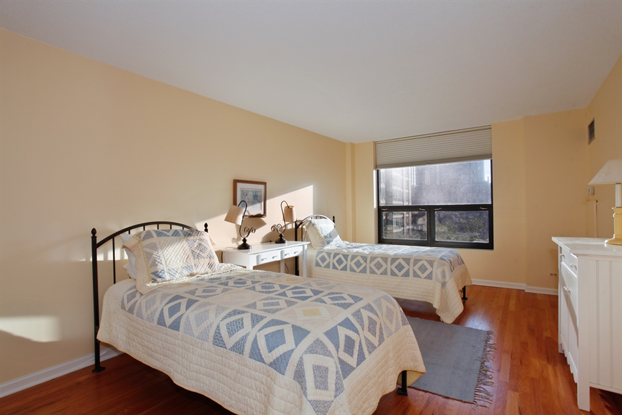 Real Estate Photography - 1250 Dearborn, 7A, Chicago, IL, 60610 - 2nd Bedroom