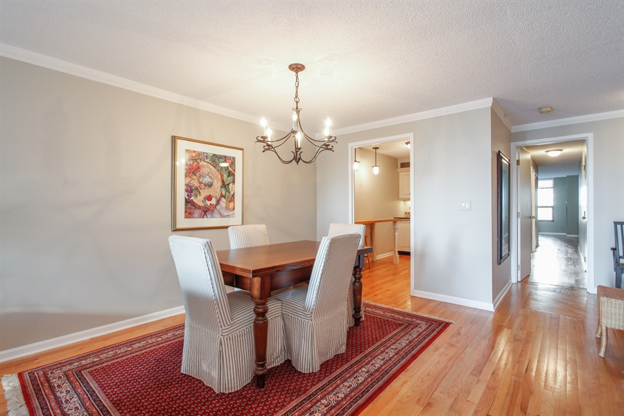 Real Estate Photography - 1250 Dearborn, 7A, Chicago, IL, 60610 - Dining Room