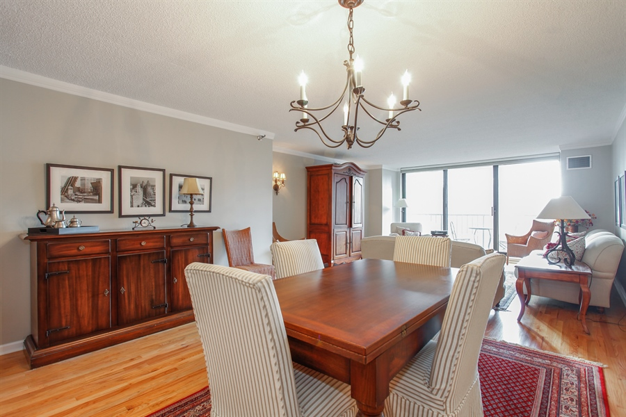 Real Estate Photography - 1250 Dearborn, 7A, Chicago, IL, 60610 - Dining Area
