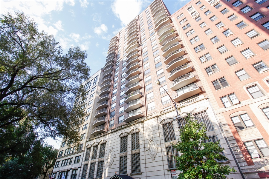 Real Estate Photography - 1250 Dearborn, 7A, Chicago, IL, 60610 - Front View
