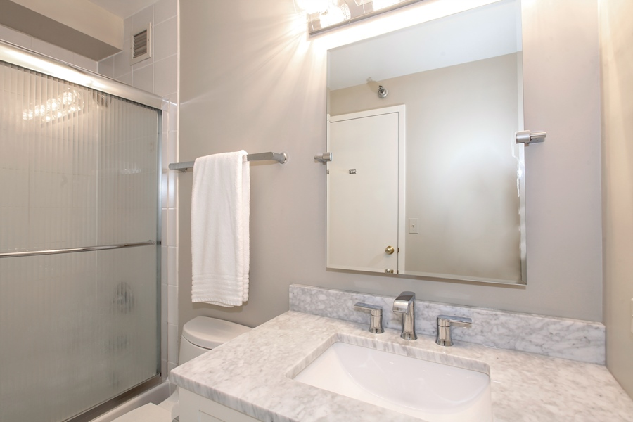 Real Estate Photography - 1250 Dearborn, 7A, Chicago, IL, 60610 - Bathroom