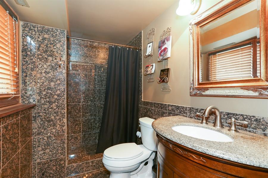 Real Estate Photography - 22W531 Balsam, Glen Ellyn, IL, 60137 - 3rd Bathroom
