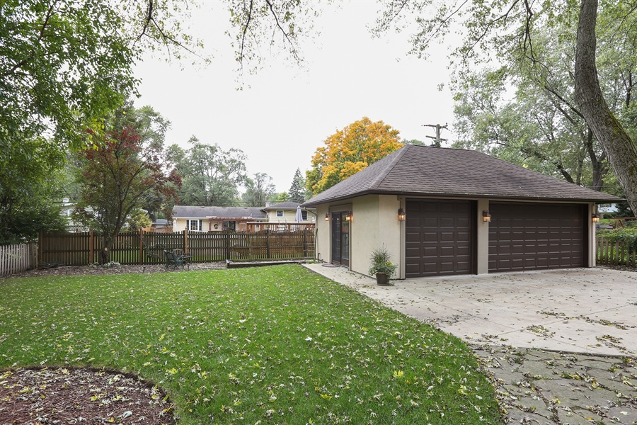 Real Estate Photography - 22W531 Balsam, Glen Ellyn, IL, 60137 - Back Yard
