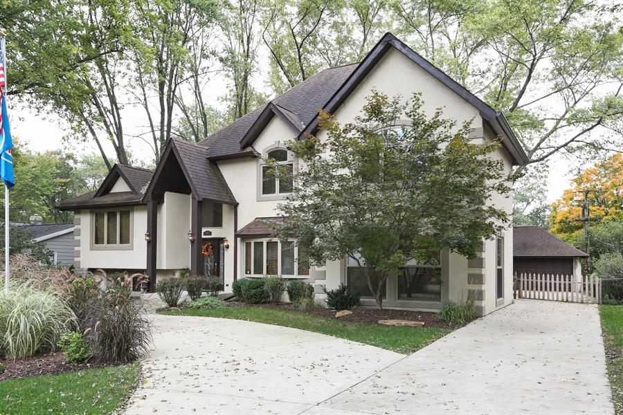 Real Estate Photography - 22W531 Balsam, Glen Ellyn, IL, 60137 - Side View