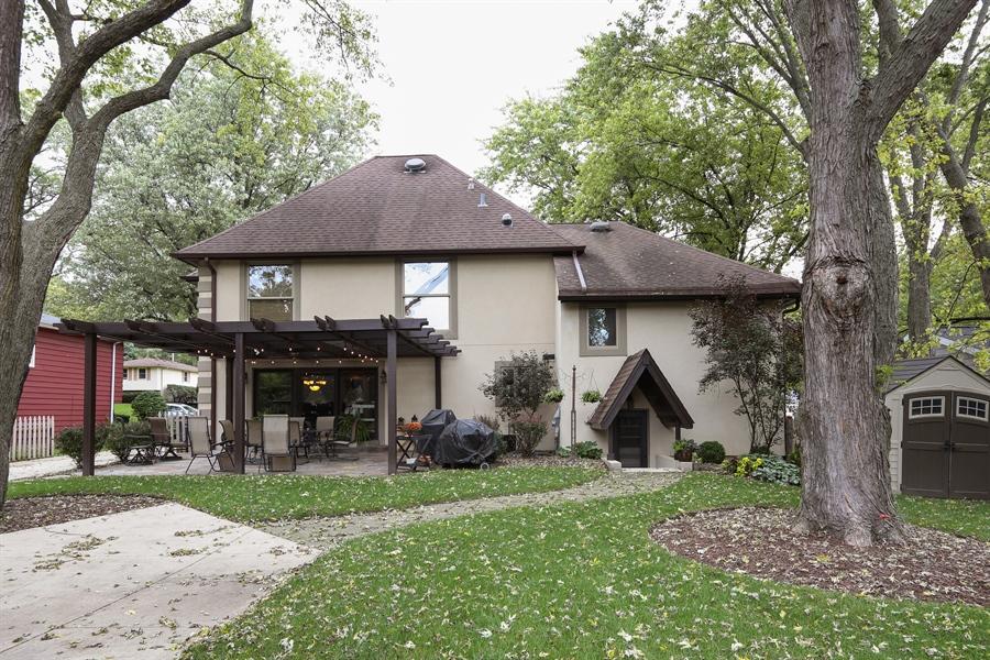 Real Estate Photography - 22W531 Balsam, Glen Ellyn, IL, 60137 - Rear View