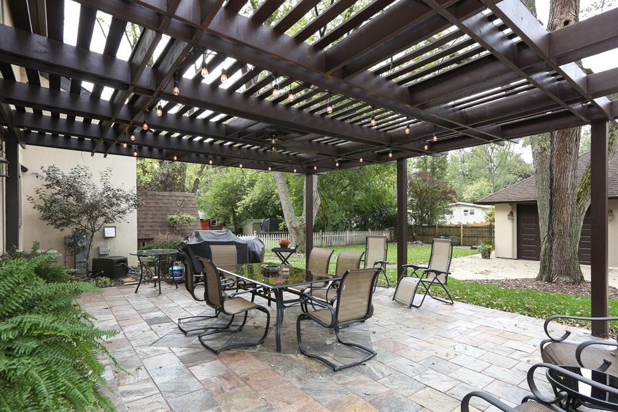 Real Estate Photography - 22W531 Balsam, Glen Ellyn, IL, 60137 - Patio
