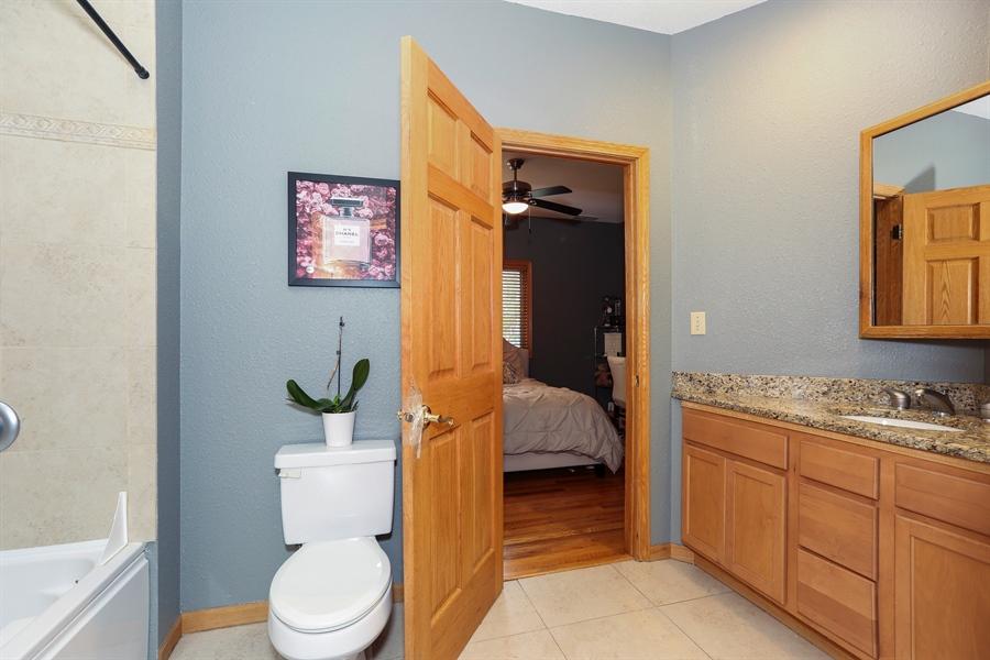 Real Estate Photography - 22W531 Balsam, Glen Ellyn, IL, 60137 - 2nd Bathroom