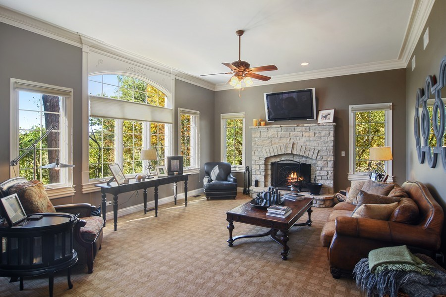Real Estate Photography - 14N302 Highland Ave, Elgin, IL, 60124 - Family Room