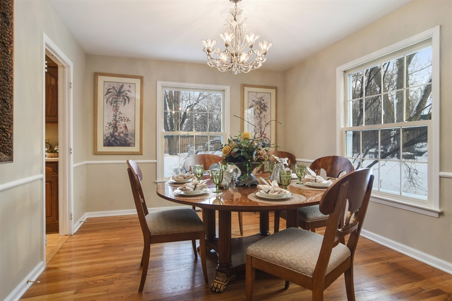 Real Estate Photography - 101 Howe Terrace, Barrington, IL, 60010 - Dining Room