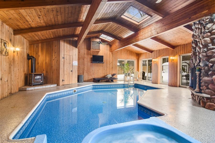 Real Estate Photography - 101 Howe Terrace, Barrington, IL, 60010 - Pool