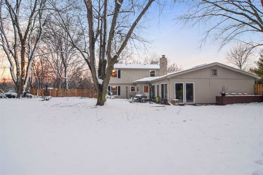 Real Estate Photography - 101 Howe Terrace, Barrington, IL, 60010 - Rear View