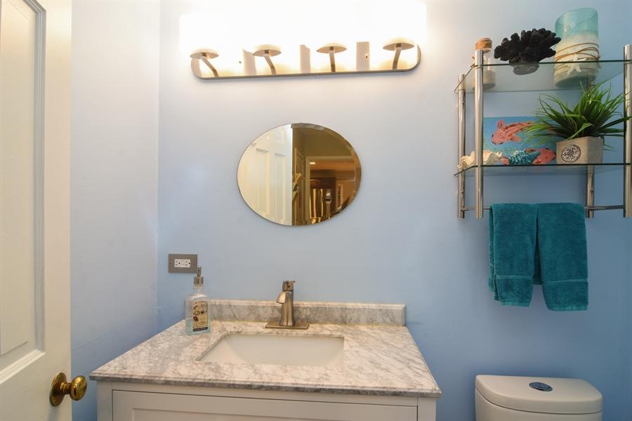 Real Estate Photography - 101 Howe Terrace, Barrington, IL, 60010 - Half Bath