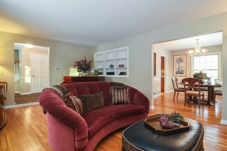 Real Estate Photography - 101 Howe Terrace, Barrington, IL, 60010 - Living Room / Dining Room