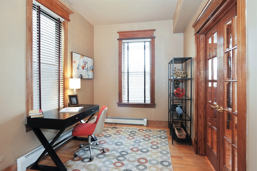 Real Estate Photography - 4113 N Kenmore, Chicago, IL, 60613 - 4th Bedroom
