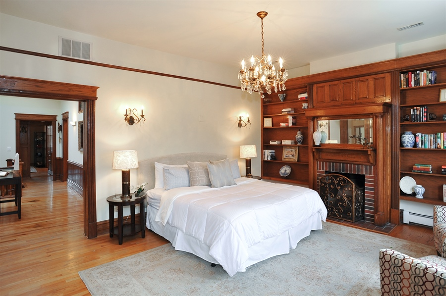 Real Estate Photography - 4113 N Kenmore, Chicago, IL, 60613 - Master Bedroom