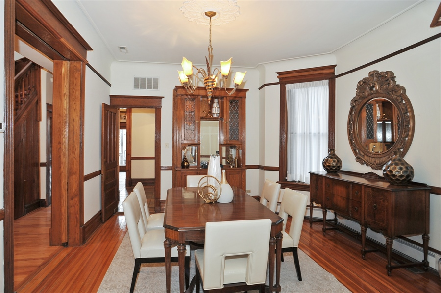 Real Estate Photography - 4113 N Kenmore, Chicago, IL, 60613 - Dining Room