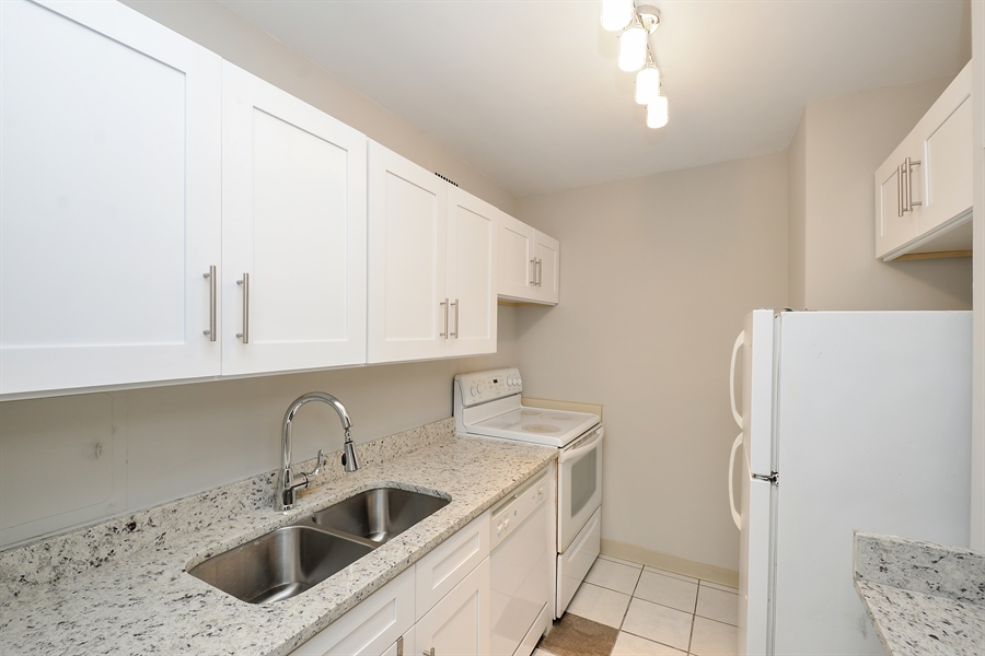 Real Estate Photography - 535 N Michigan Ave, 1403, Chicago, IL, 60611 - Kitchen