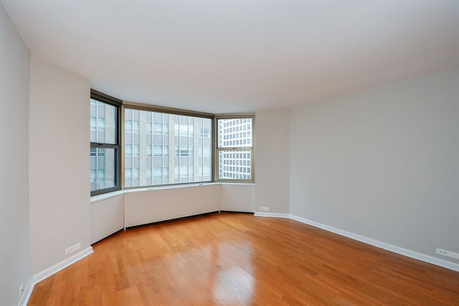 Real Estate Photography - 535 N Michigan Ave, 1403, Chicago, IL, 60611 - Bedroom