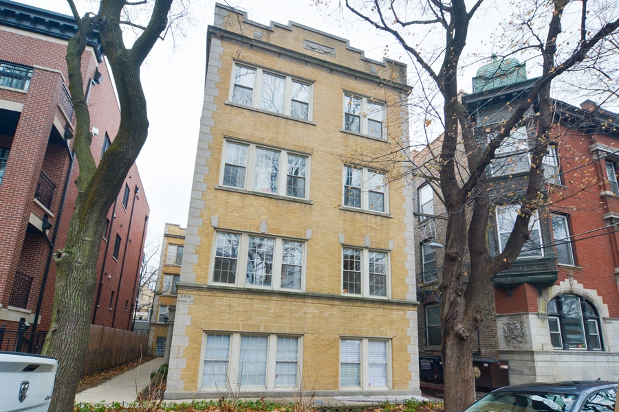 Real Estate Photography - 2215 N Bissell, 2A, Chicago, IL, 60614 - Front View