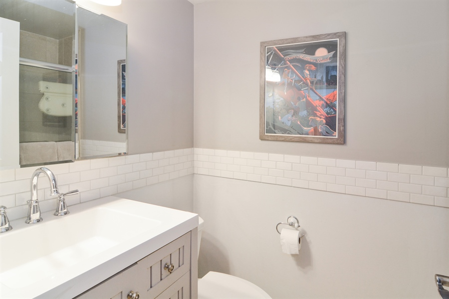 Real Estate Photography - 2215 N Bissell, 2A, Chicago, IL, 60614 - Bathroom