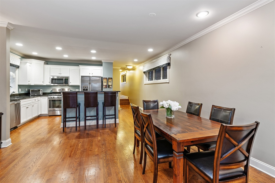 Real Estate Photography - 821 W Aldine, 1, Chicago, IL, 60657 - Kitchen / Dining Room