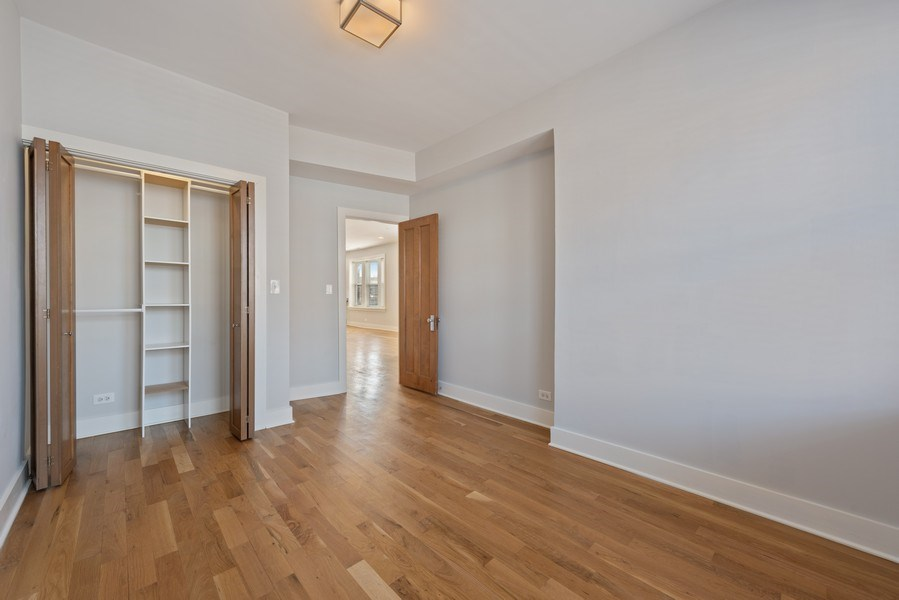 Real Estate Photography - 3045 W Sunnyside, 2W, Chicago, IL, 60625 - 2nd Bedroom