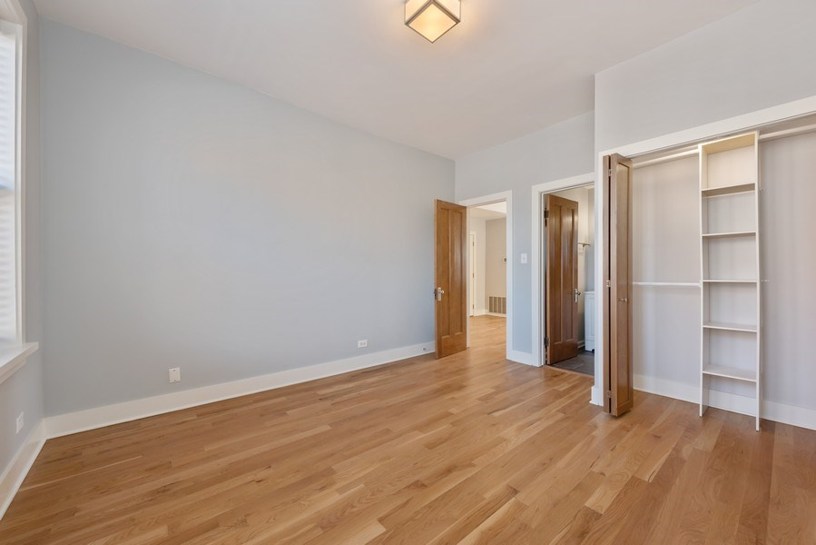 Real Estate Photography - 3045 W Sunnyside, 2W, Chicago, IL, 60625 - Master Bedroom