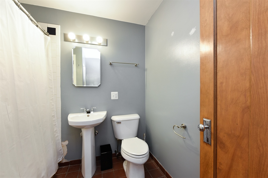 Real Estate Photography - 3045 W Sunnyside, 2W, Chicago, IL, 60625 - 2nd Bathroom