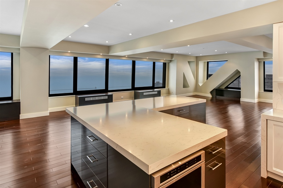 Real Estate Photography - 175 E Delaware, 7508, Chicago, IL, 60611 - Kitchen/Dining