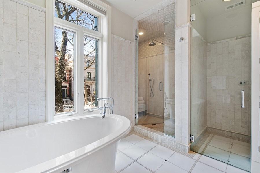 Real Estate Photography - 1953 N. Dayton, Chicago, IL, 60614 - Master Bathroom
