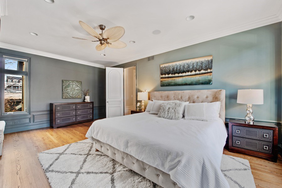Real Estate Photography - 1953 N. Dayton, Chicago, IL, 60614 - Master Bedroom
