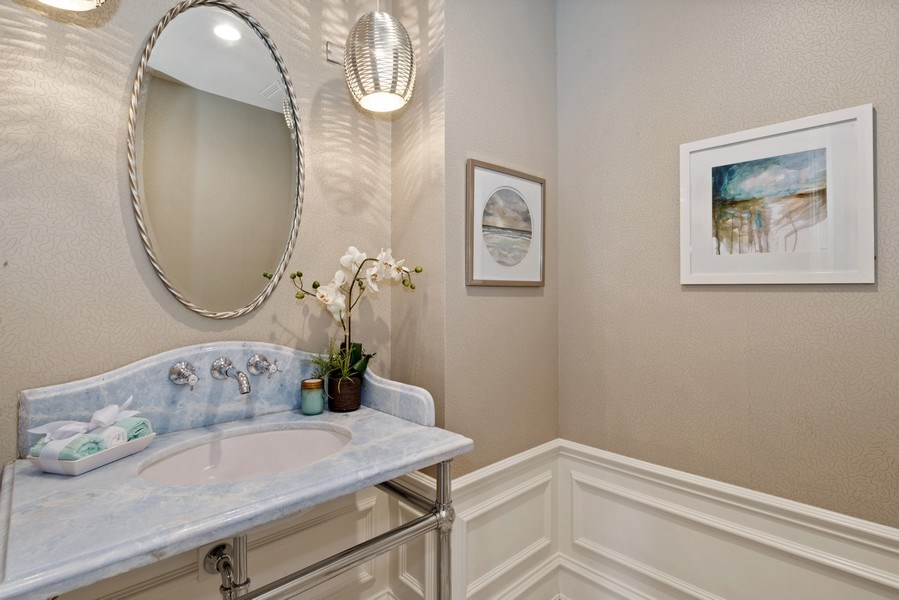Real Estate Photography - 1953 N. Dayton, Chicago, IL, 60614 - Powder Room