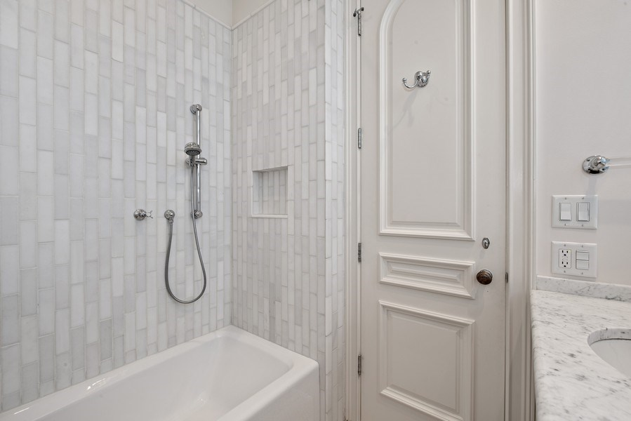 Real Estate Photography - 1953 N. Dayton, Chicago, IL, 60614 - 2nd Bathroom