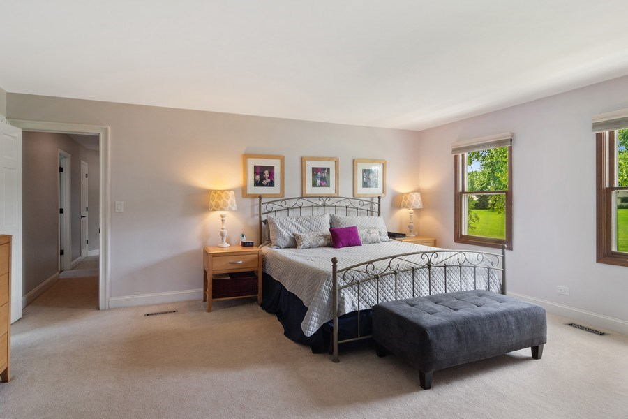 Real Estate Photography - 20905 Pheasant Trail, Barrington, IL, 60010 - Master Bedroom