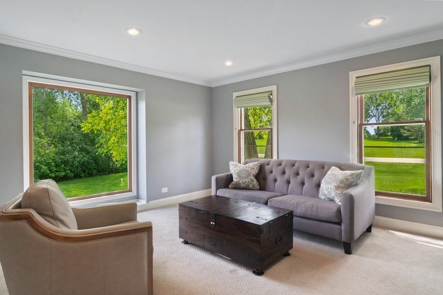 Real Estate Photography - 20905 Pheasant Trail, Barrington, IL, 60010 - Living Room