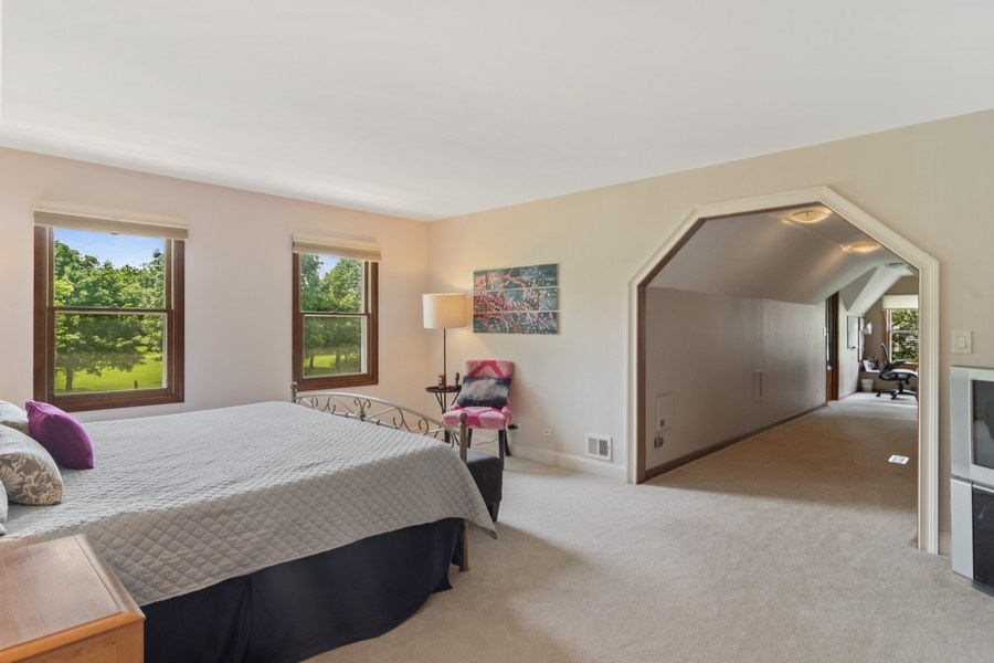 Real Estate Photography - 20905 Pheasant Trail, Barrington, IL, 60010 - Master Bedroom