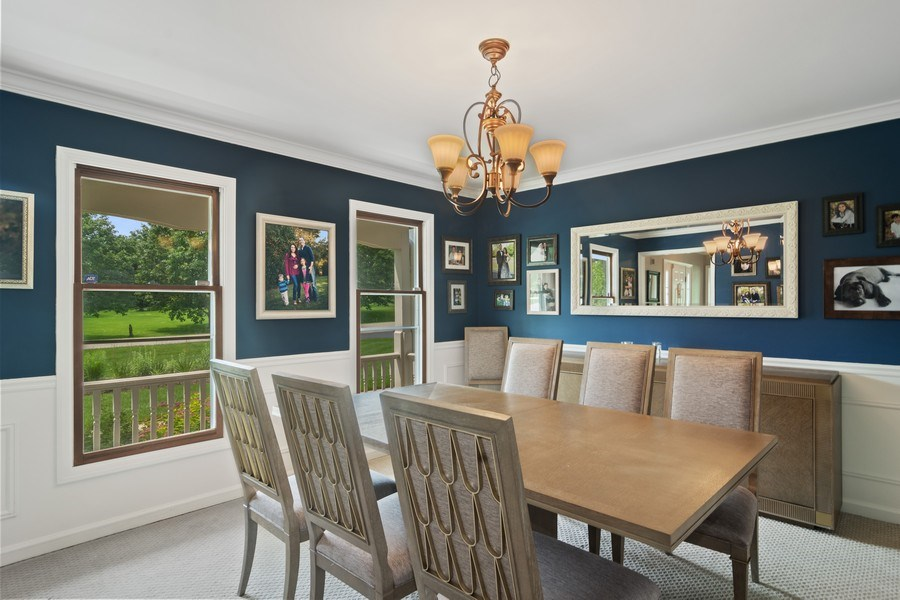 Real Estate Photography - 20905 Pheasant Trail, Barrington, IL, 60010 - Dining Room