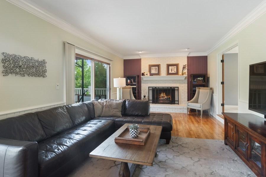 Real Estate Photography - 20905 Pheasant Trail, Barrington, IL, 60010 - Family Room