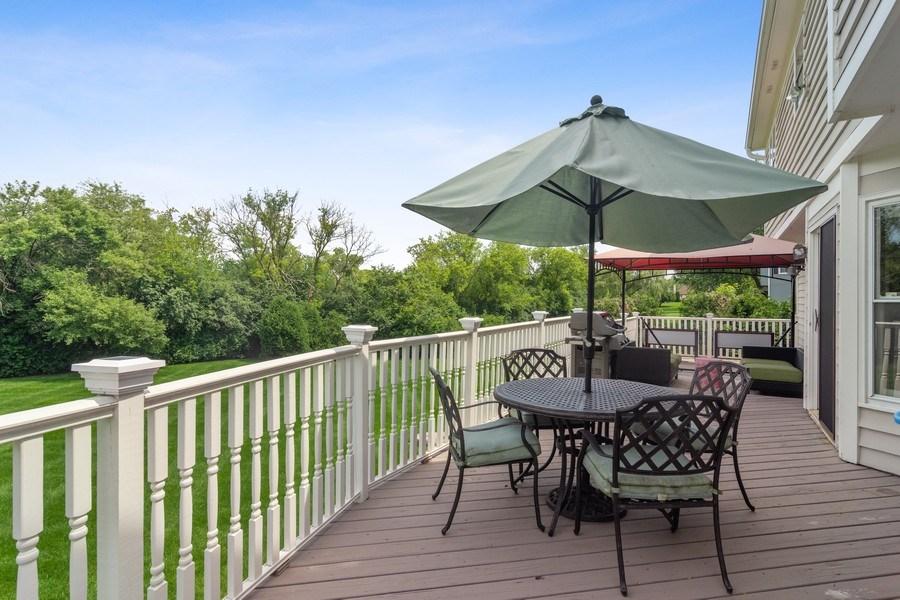 Real Estate Photography - 20905 Pheasant Trail, Barrington, IL, 60010 - Deck