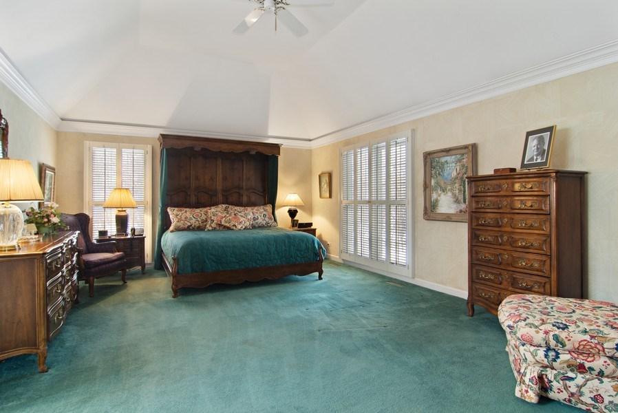 Real Estate Photography - 120 Haverton Way, Barrington, IL, 60010 - Master Bedroom