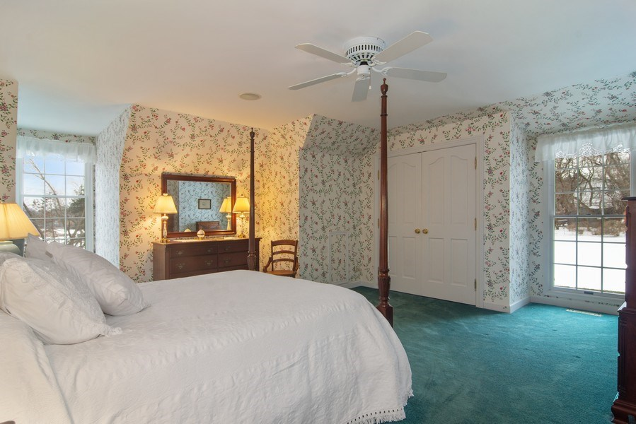 Real Estate Photography - 120 Haverton Way, Barrington, IL, 60010 - 2nd Bedroom