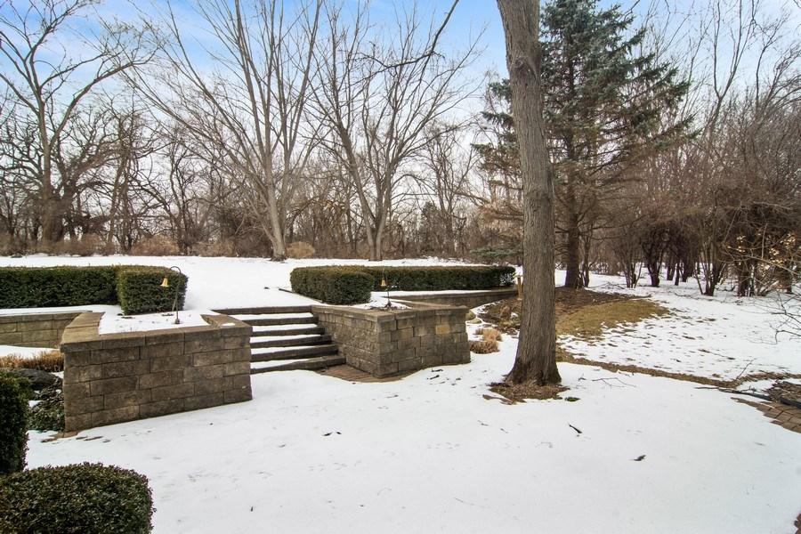 Real Estate Photography - 120 Haverton Way, Barrington, IL, 60010 - Back Yard