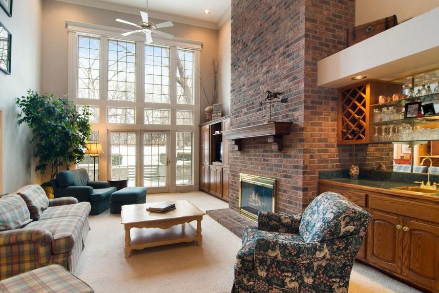 Real Estate Photography - 120 Haverton Way, Barrington, IL, 60010 - Family Room
