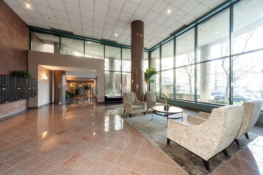 Real Estate Photography - 440 N McClurg Ct, Unit 309, Chicago, IL, 60611 - Lobby