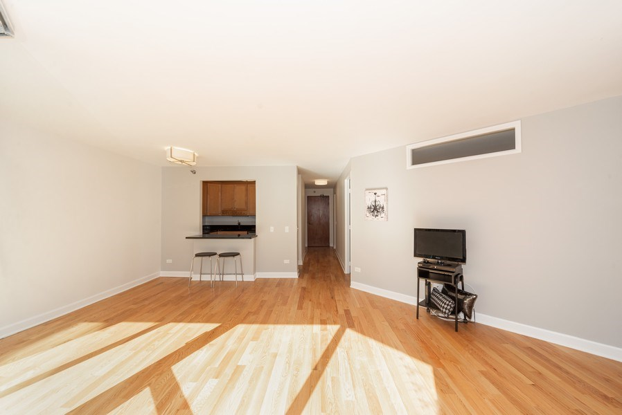 Real Estate Photography - 440 N McClurg Ct, Unit 309, Chicago, IL, 60611 - Living Room