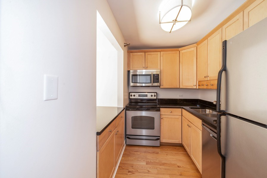 Real Estate Photography - 440 N McClurg Ct, Unit 309, Chicago, IL, 60611 - Kitchen