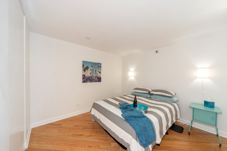 Real Estate Photography - 440 N McClurg Ct, Unit 309, Chicago, IL, 60611 - Bedroom