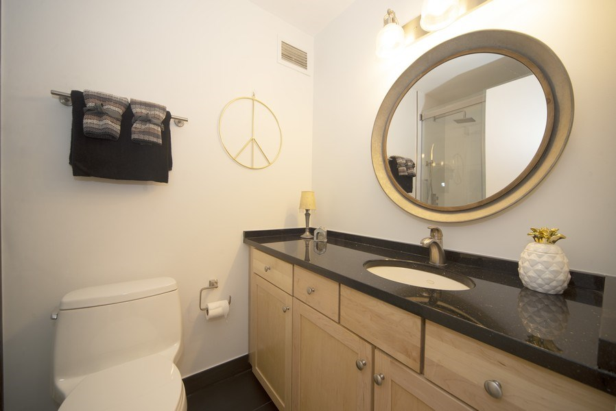 Real Estate Photography - 440 N McClurg Ct, Unit 309, Chicago, IL, 60611 - Bathroom